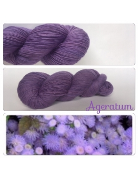 """Ageratum"" Fil Single Fingering Mérinos"