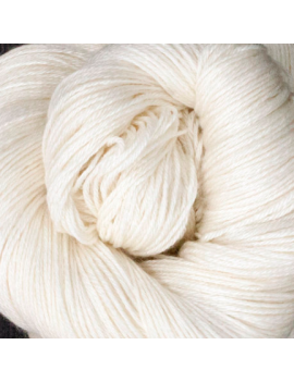 55% SuperWash Bluefaced Leicester (BFL) 45% Soie