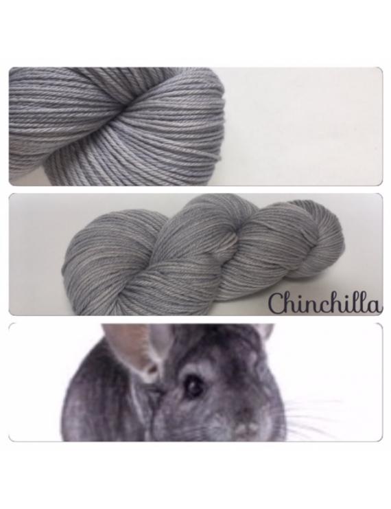 """Chinchilla"" Fil DK 100% Mérinos"