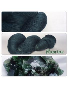 """""""Fluorine"""" Fil Fingering 100% Mérinos"""