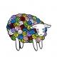 """Mouton en Pelotes"" Pins"
