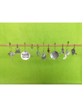 """Game of Thrones"" Stitch Markers"