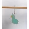 """Green Alpaca"" Removable Stitch Marker"