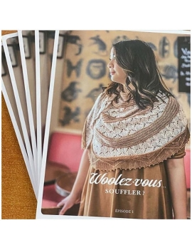 """""""Woolez Vous...Souffler?"""" Magazine Tricot Français N1"""