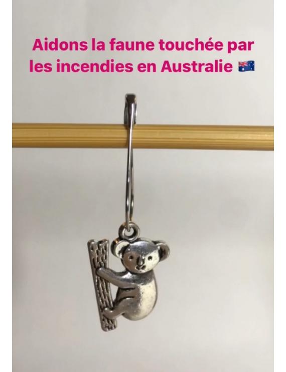 """""""Koala"""" Anneau marqueur Amovible"""