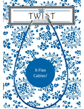 Chiaogoo Twist Blue Cable X Flex Small