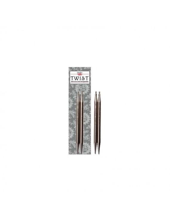 "Needles interchangeables ""Small"" Twist Lace ChiaoGoo 8 cm"