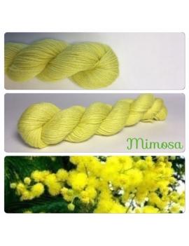 """""""Mimosa"""" Alpaga Merinos Ramie"""