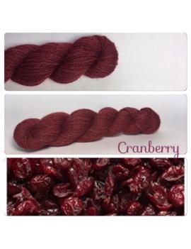 """""""Cranberry"""" Alpaga Merinos Ramie"""
