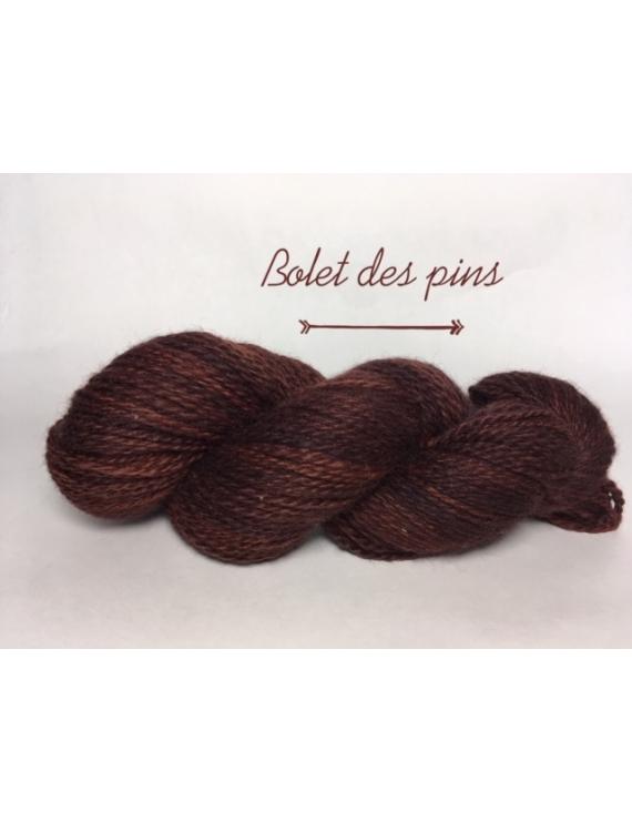 """Bolet des Pins"" Fil DK Baby Alpaga/Ile de France"
