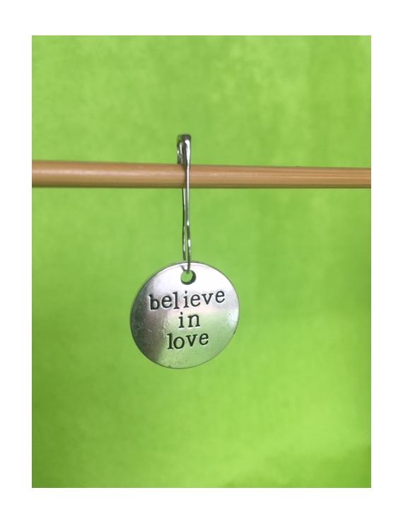"""""""Believe In Love"""" Anneau marqueur"""