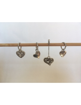 """""""Hearts"""" Stitch Markers"""