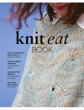 Livre Knit Eat Book