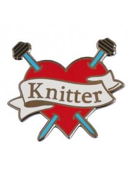 """""""Knitter"""" Pins"""