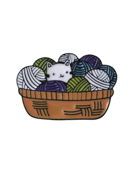 """Chat et Pelotes"" Pins"
