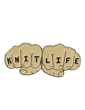 """""""Knit Life"""" Pins"""