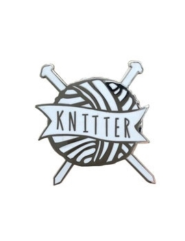 """""""Knitter"""" Pins Pelote"""
