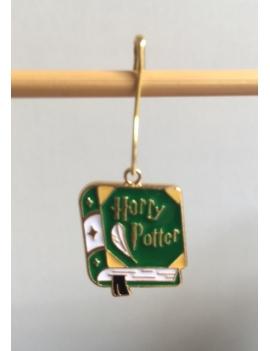 """""""Harry Potter Maison Serpentard Le lIvre"""" Anneau marqueur"""