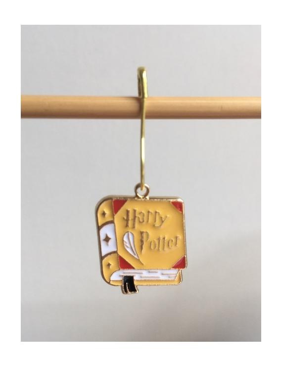 """""""Harry Potter Maison Poufsouffle Le lIvre"""" Anneau marqueur"""