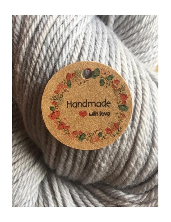 """Hand Made"" Etiquette Decorative Carton"