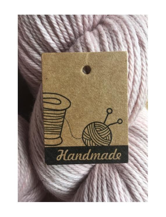 """Hand Made"" Etiquette Carton Kraft"
