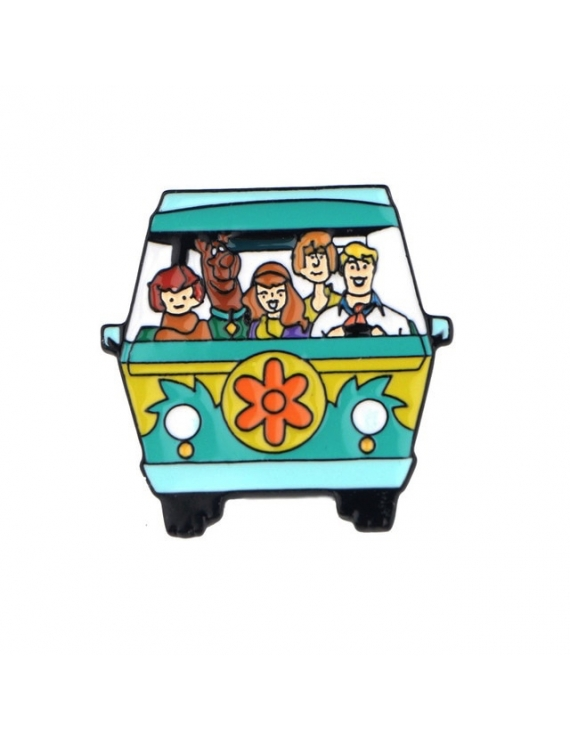 """Le Bus Scoobydoo"" Pins"
