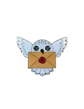 """""""Edwige et la lettre """" Pins Harry Potter"""