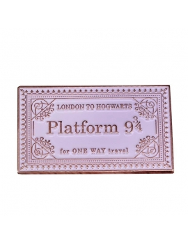 """Platform 9 3/4 One Way Travel"" Pins Harry Potter"