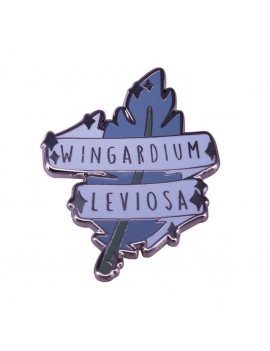 """Wingardium Leviosa"" Pins Harry Potter"