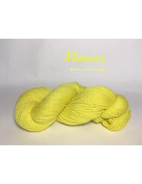"""Mimosa"" Fil DK Baby Alpaga/Ile de France"