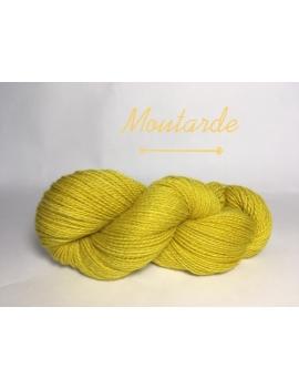 """Moutarde"" Fil DK Baby Alpaga/Ile de France"