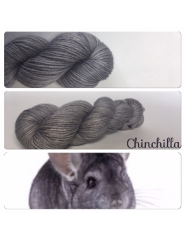 """Chinchilla"" Fil DK 100% Baby Alpaga"