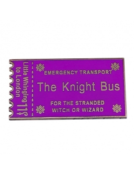 """The Knight Bus Ticket"" Pins Harry Potter"