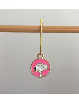 """Beauty and the Beast"" Stitch Markers"
