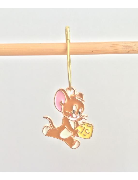 """"""" Jerry et son fromage"""" Anneau marqueur Tom et Jerry"""