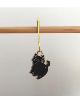 """""""Petit chat noir"""" Anneau marqueur"""