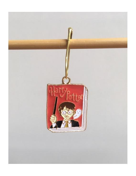 """""""Harry Potter Maison Serdaigle Le Grimoire """" Anneau marqueur"""