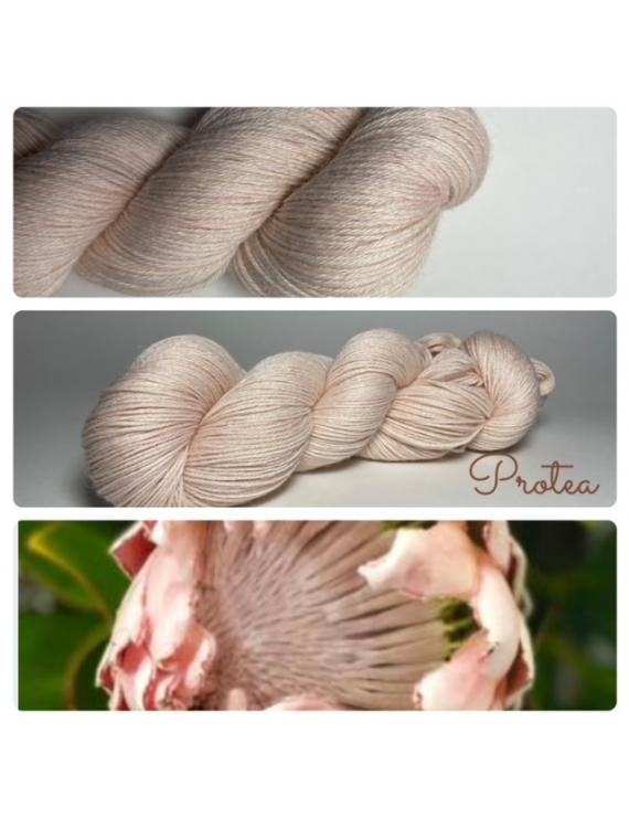 """""""Protea"""" Fil Fingering 100% Baby Alpaga"""