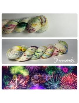 """Fireworks Fil Mérinos Alpaga & Nylon"