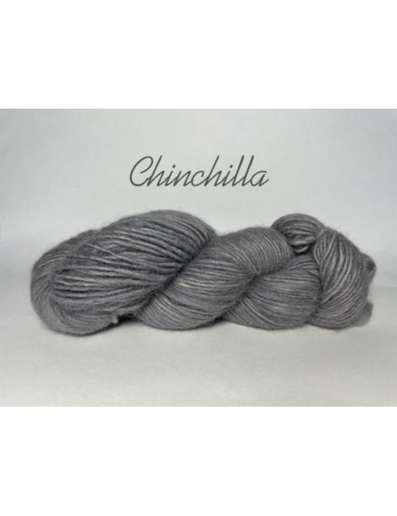 """""""Chinchilla"""" 100% Fine Alpaga Fil Single DK"""